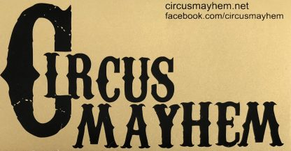 Circus Mayhem sticker