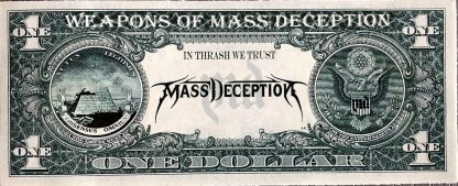 Mass Deception sticker